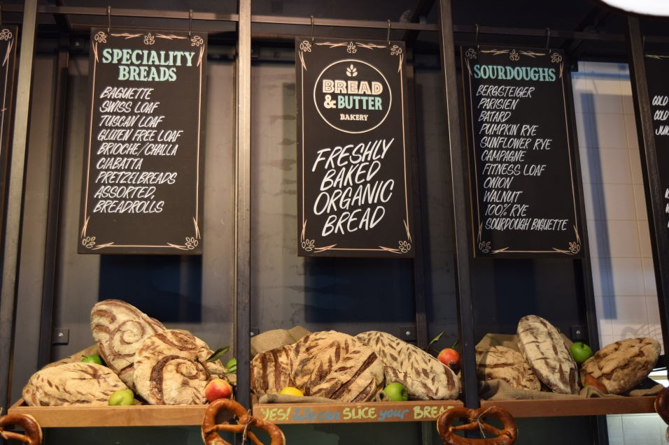 Breads on offer